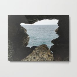PHOTOGRAPHY  - A glimpse of infinity Metal Print