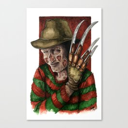 Freddy of your Dreams Canvas Print