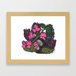 Elegance (Botanical Bliss) Framed Art Print
