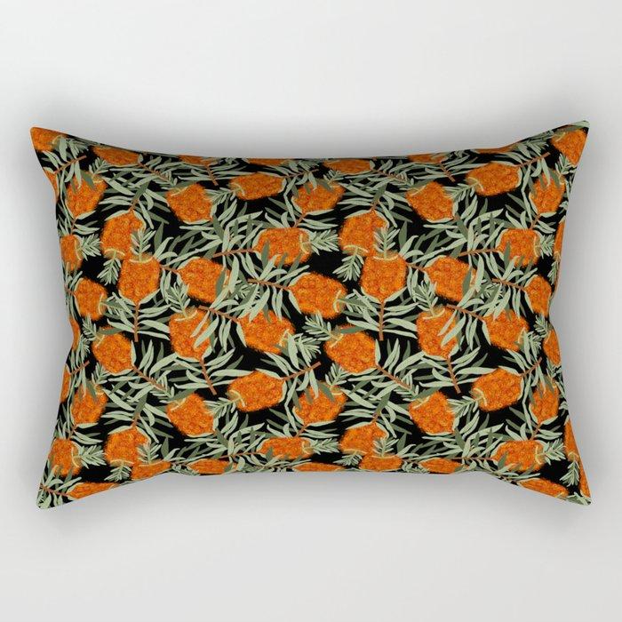 Bottlebrush Flower Rectangular Pillow
