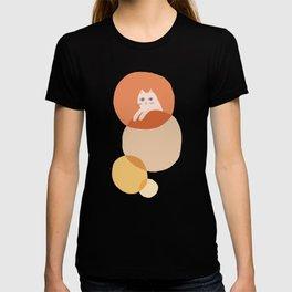 Abstraction_CAT_BUBBLES_DREAM_POP_ART_Minimalism_001A T-shirt