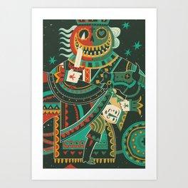 Jack of Hearts Art Print