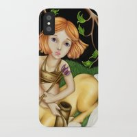 sagittarius iPhone & iPod Cases featuring Sagittarius by Paula Ellenberger