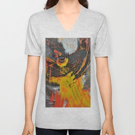 Motion in Abstraction Unisex V-Neck