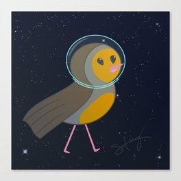 Space Bird! Canvas Print