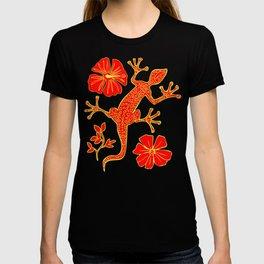 Tribal Lizard Design #1 T-shirt