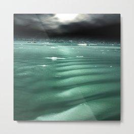Arctic Moonlight Metal Print