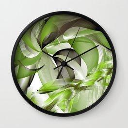 Côté palmier Wall Clock