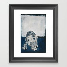 R2D2 and Rothko Framed Art Print