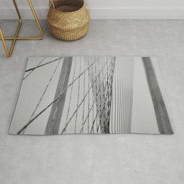 Santiago Calatrava Bridge Rug