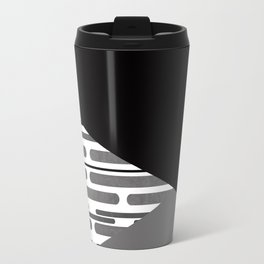 Geometric patchwork 6 Travel Mug