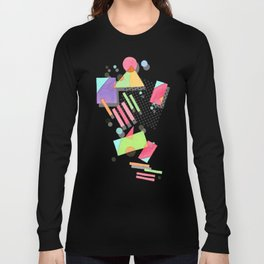 Rad 80s Memphis Long Sleeve T-shirt