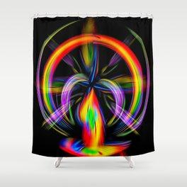 Abstrakt - Perfektion 51 Shower Curtain