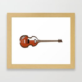 Macca Bass Framed Art Print