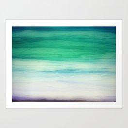 Sea abstract Art Print