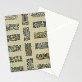 Art Nouveau Patterns Stationery Cards