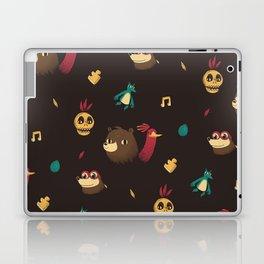 banjo pattern Laptop & iPad Skin