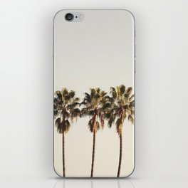 Golden Palms iPhone Skin