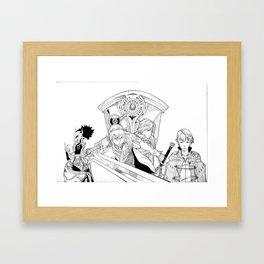 Fire Emblem Awakening Ink  Framed Art Print