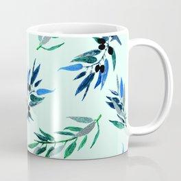 Olive leaves Silver Coffee Mug