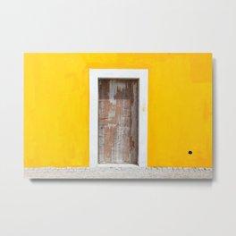 Door to Peninha Metal Print