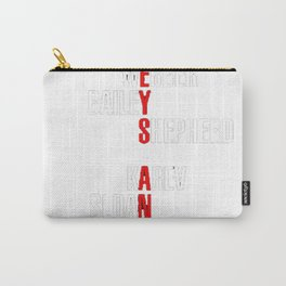 Grey's Anatomy Early Cast Names (white) Carry-All Pouch