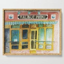 Halibut Point Restaurant Serving Tray