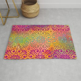 DP050-5 Colorful Moroccan pattern Rug