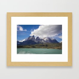 Torres del Paine, Chile Framed Art Print