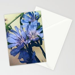 Blue Wildflower Stationery Cards