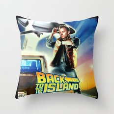 Back to the Island (part duex) Throw Pillow