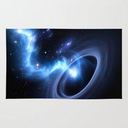 Black Hole F1 Rug