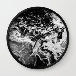 Obsidian Waters Wall Clock