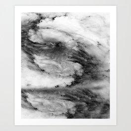 CLOUDS#2 Art Print