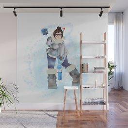 Mei Cryo-Freezing Wall Mural