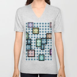 zappwaits glass Unisex V-Neck