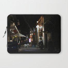 Samoyedo in Dali Laptop Sleeve