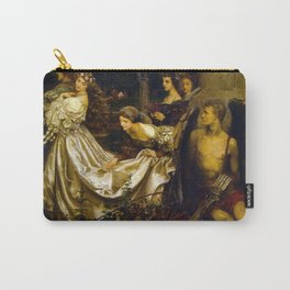 Eleanor Fortescue-Brickdale - The Uninvited Guest Carry-All Pouch