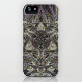Purple Black Lime #2 iPhone Case