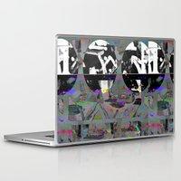 tiki Laptop & iPad Skins featuring Freaky Tiki by Lynsey Ledray