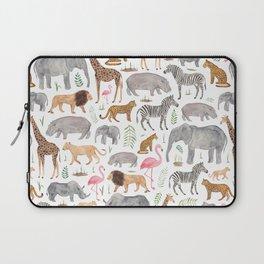 Safari Animals Laptop Sleeve