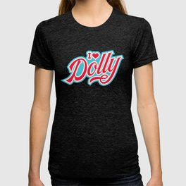 I love Dolly Parton, retro vintage western style T-shirt