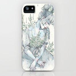 Springy Rain iPhone Case