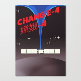Chang'e-4 Canvas Print