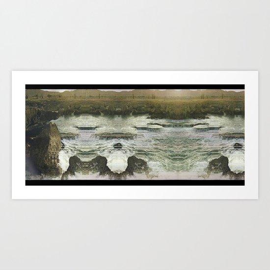 Desert Abyss 3 Art Print