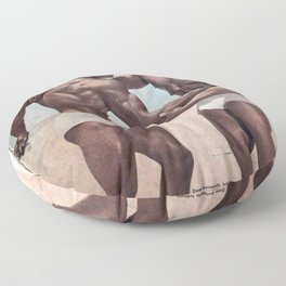 Muscles Magazine Floor Pillow