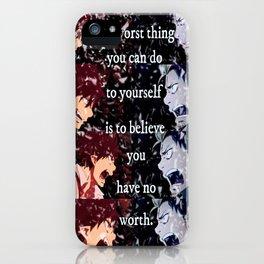 BonRin - Worth iPhone Case