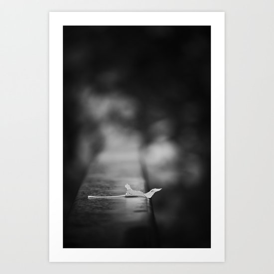 revelation of abandonment Art Print
