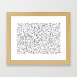 Munnen - Evolved Framed Art Print