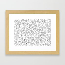Munnen - Evolved Framed Art Print